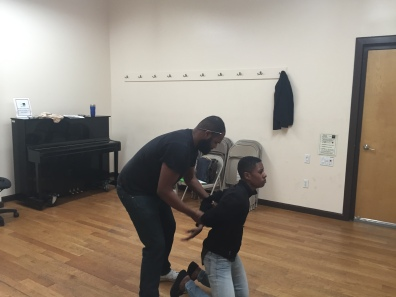 Sheyenne Javonne Brown & Kevin Green Black Revolutionary Theatre Workshop