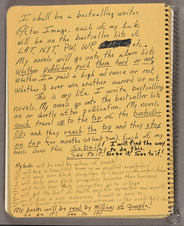 octavia butler notes to herself